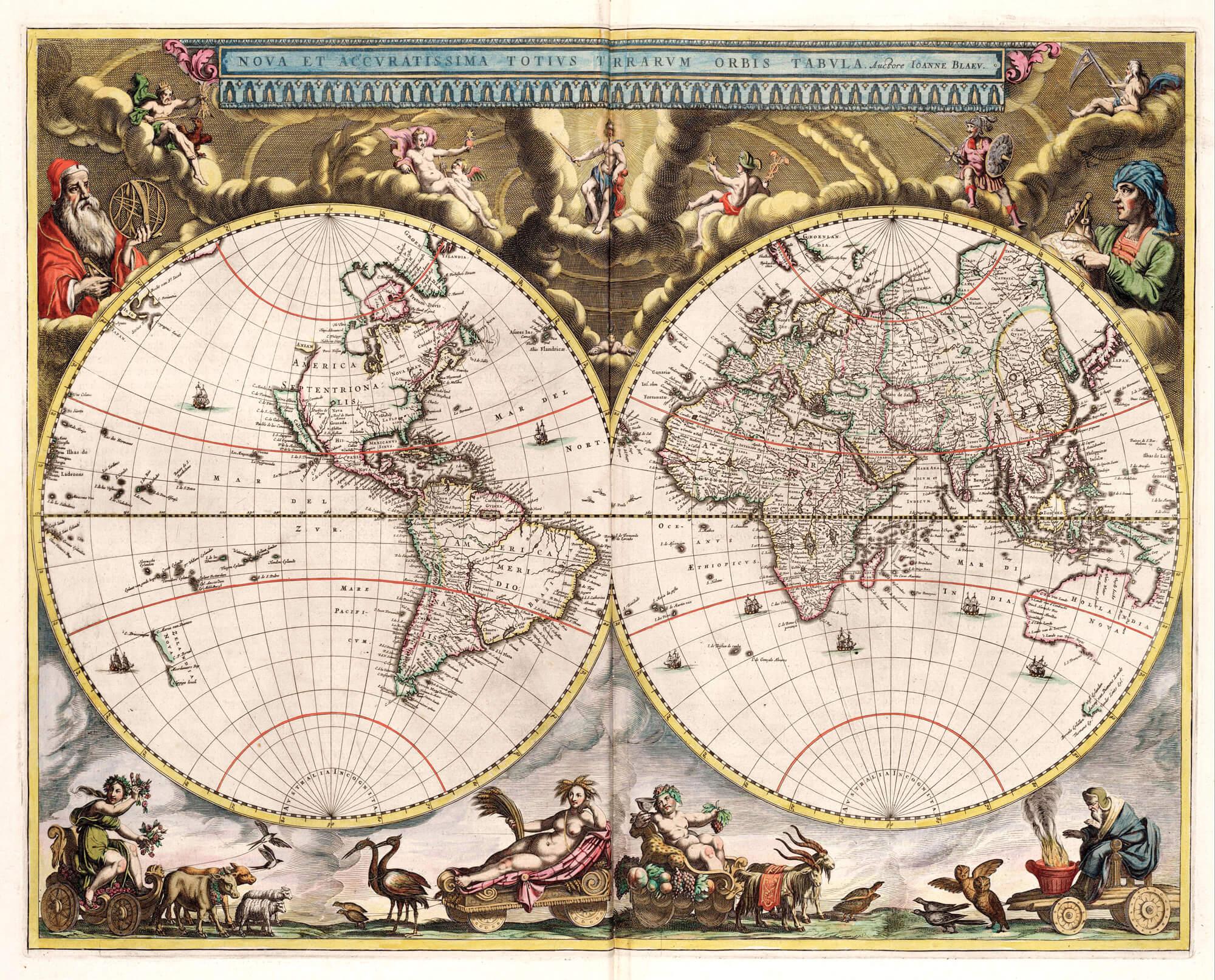 British Isles Johannes Jannson 1750 Bro 06 L Brown Collection