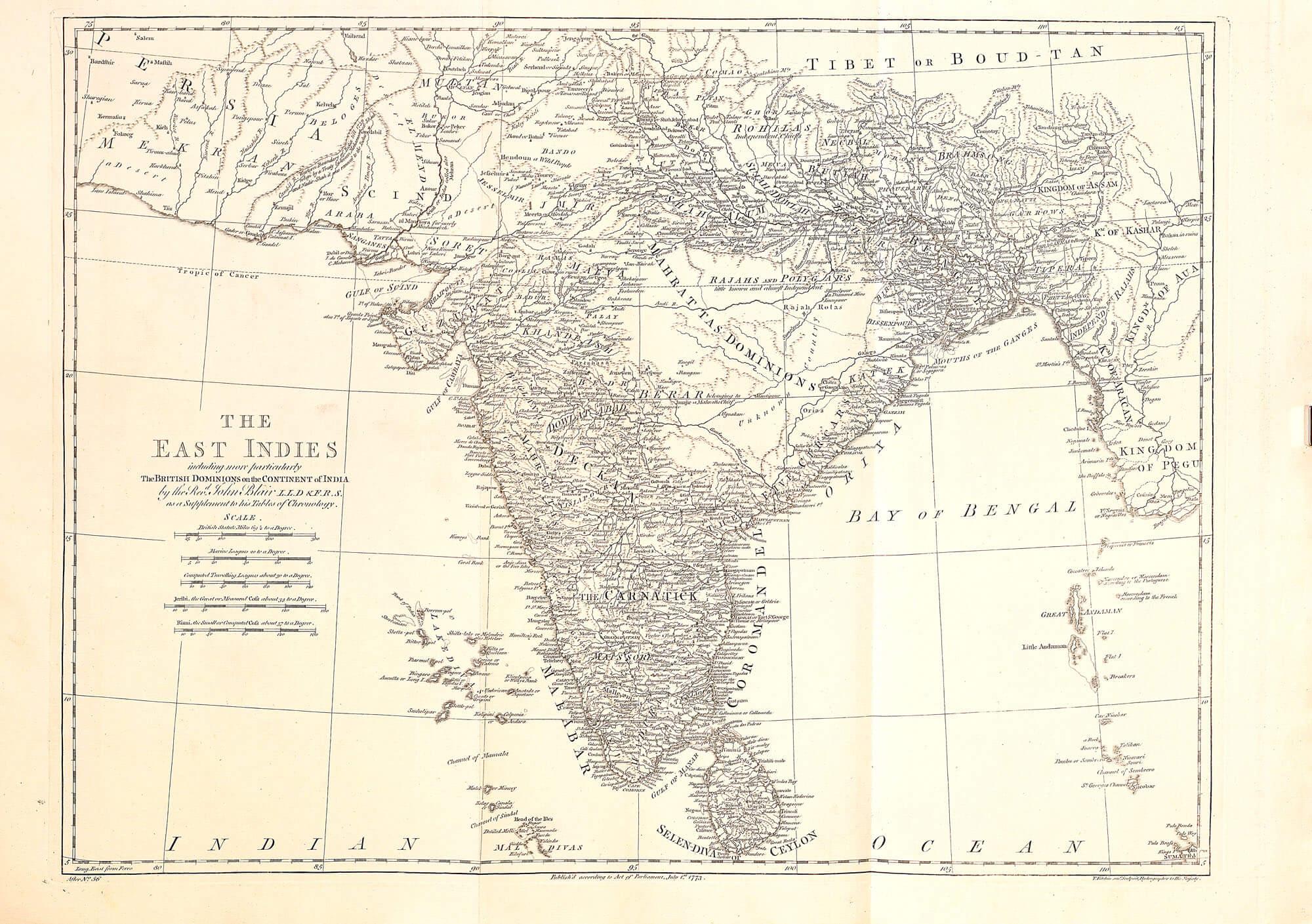 World atlas john blair 1768 l brown collection a 113 11 india gumiabroncs Gallery