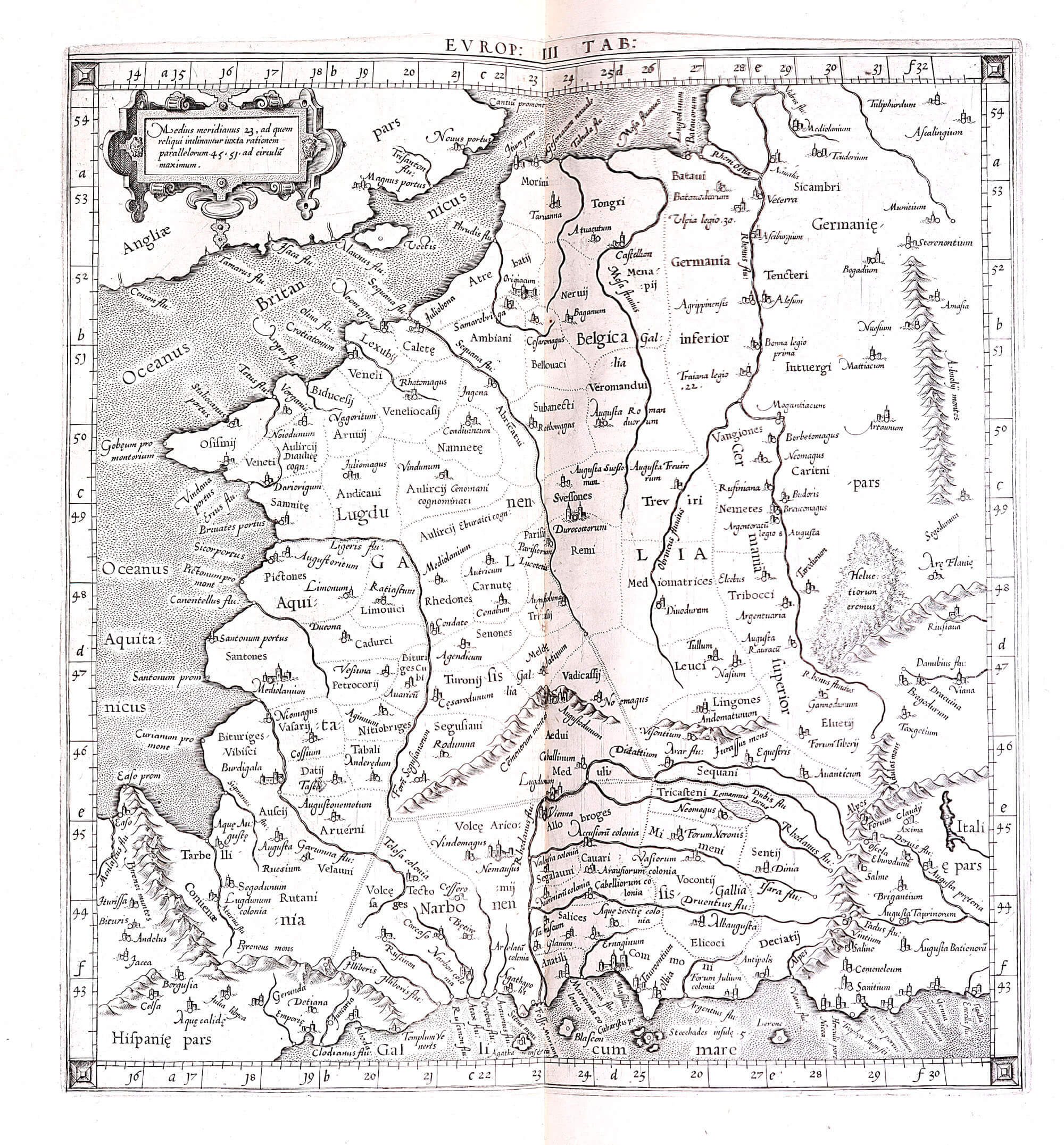 World atlas c ptolomy peter bertius 1619 l brown collection a 2 19 04 france gumiabroncs Choice Image