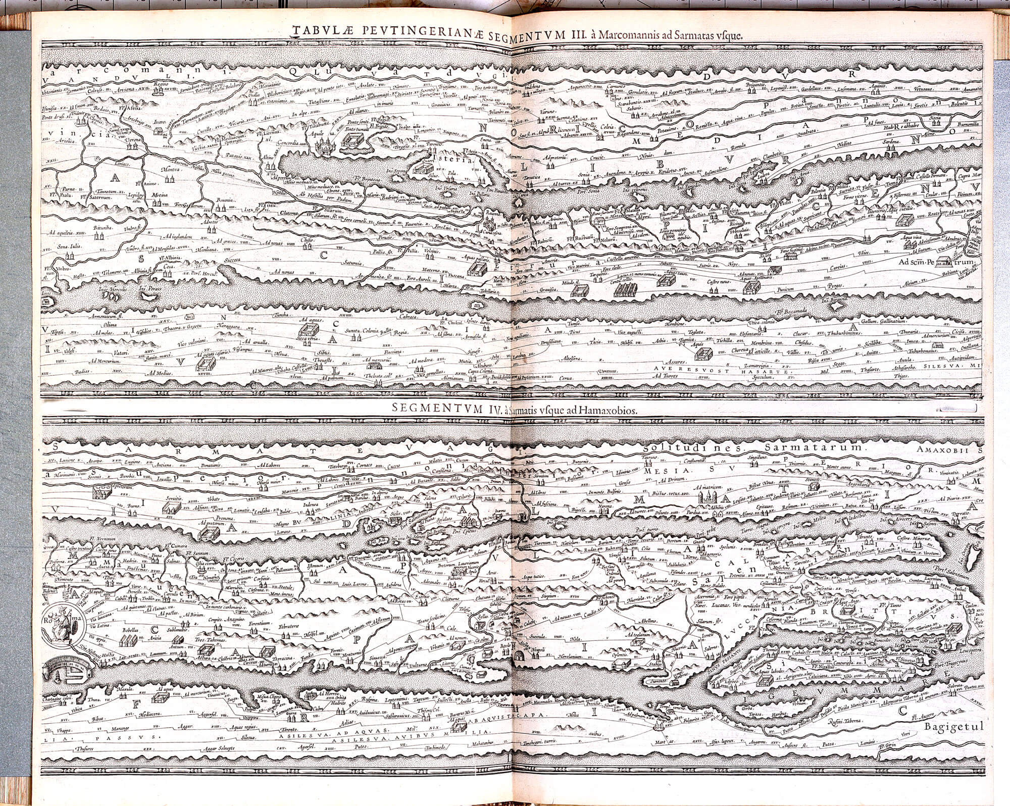 World Atlas C Ptolomy-Peter Bertius 1619 – L Brown Collection