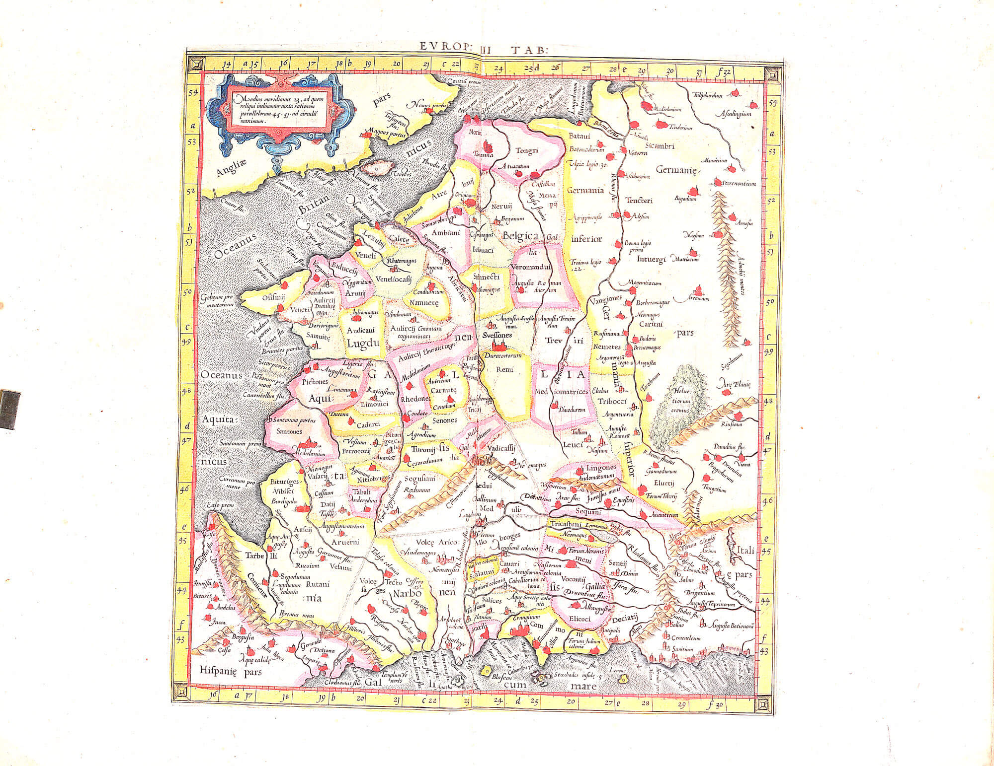 World atlas c ptolomy peter bertius 1618 l brown collection dd aa 08 04 france gumiabroncs Choice Image