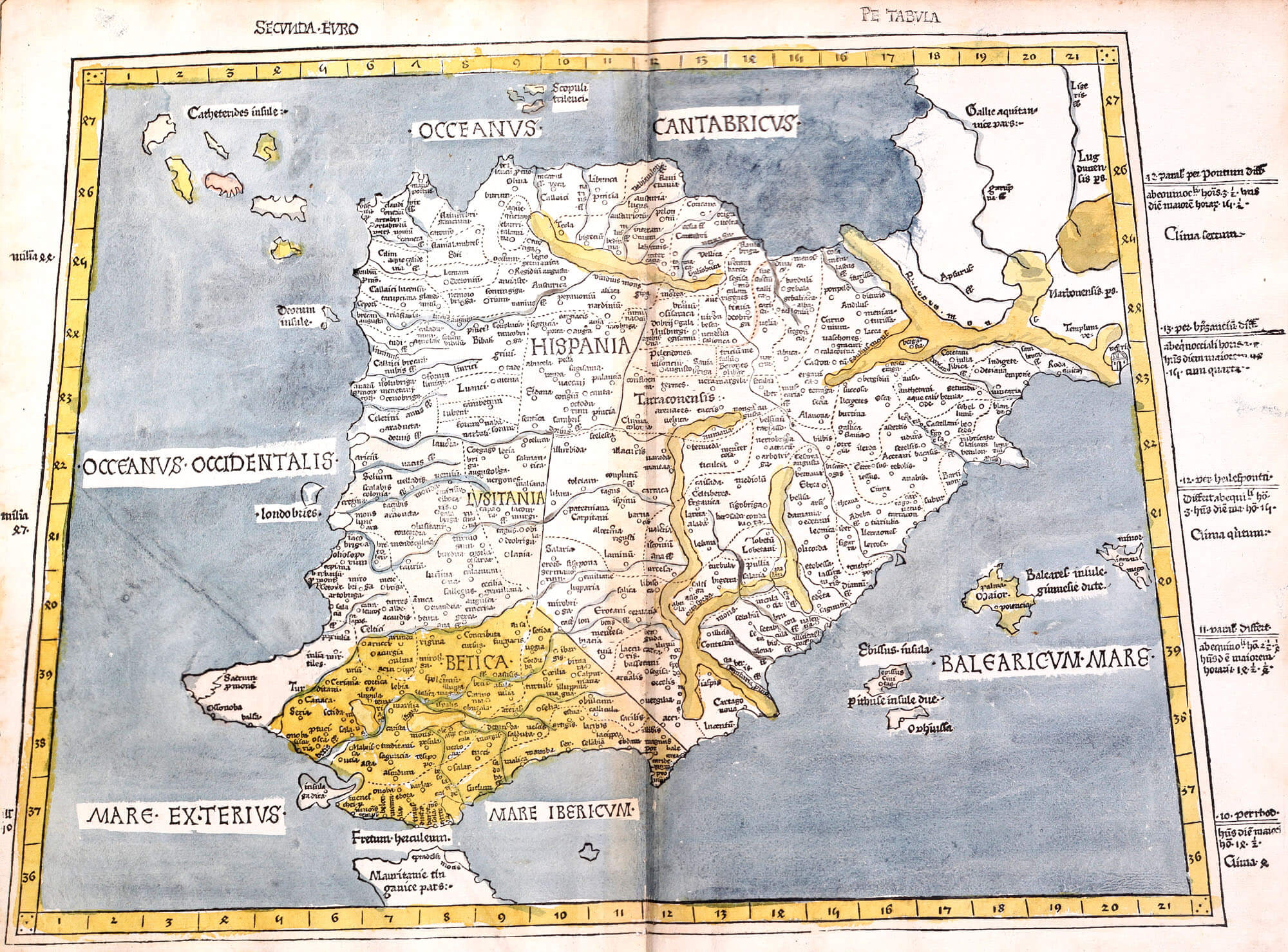 World atlas ptolomy 1477 l brown collection dd aa 10 03 france gumiabroncs Choice Image