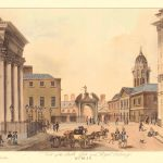 Dublin Castle Gate-Brocas-1810