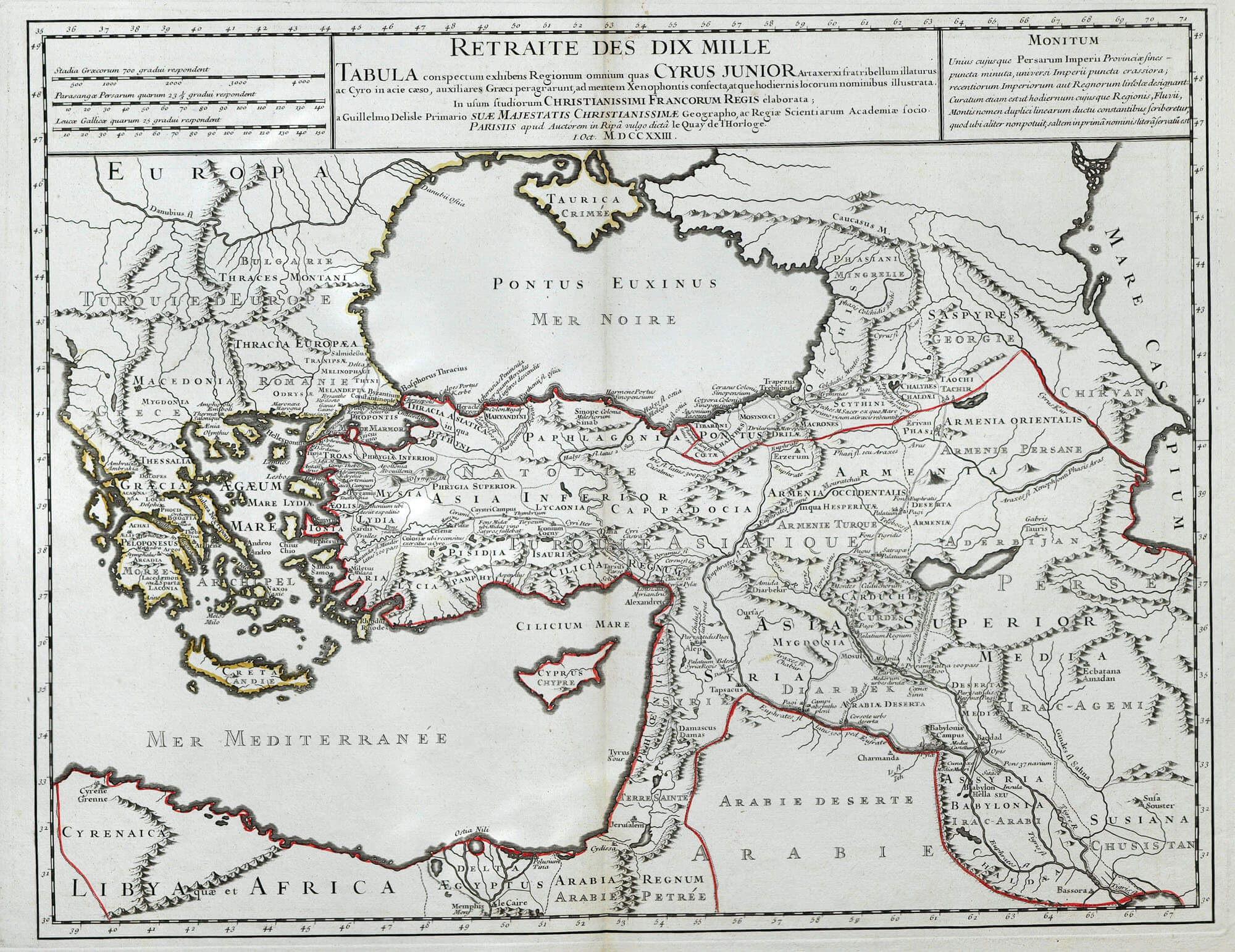 Worldwide maps asia persia palestine fag18 l brown collection f18 5 near east turkey de lisle 1723 gumiabroncs Image collections