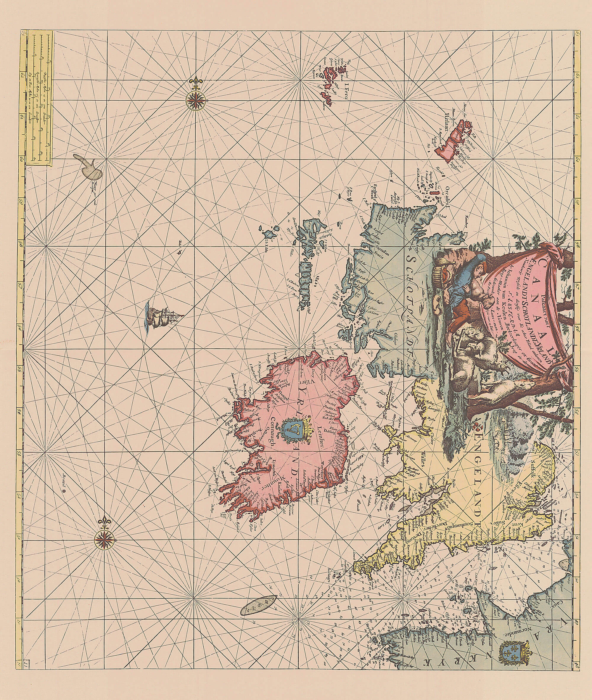 Ireland L Brown Collection - Sweden map 1800