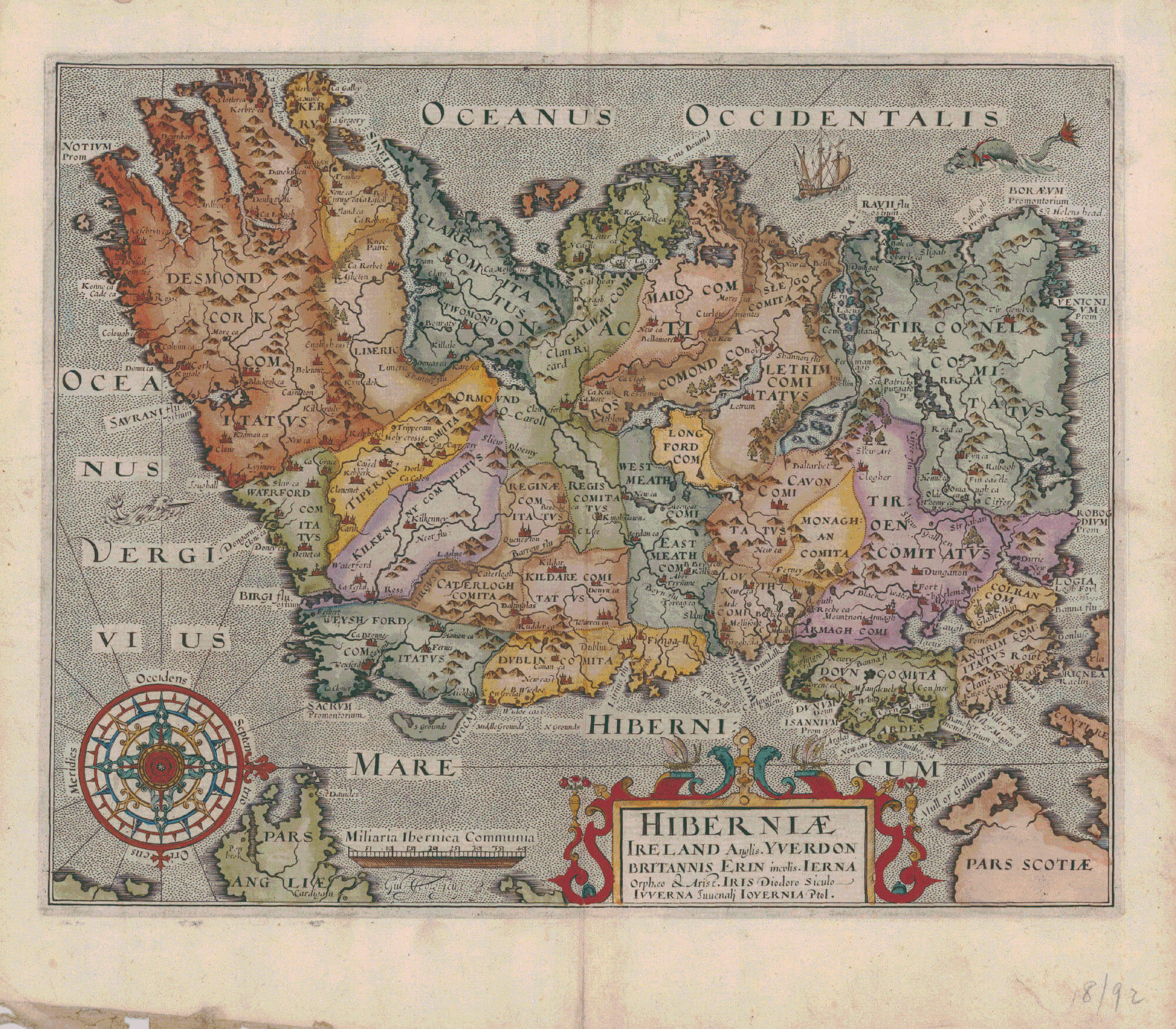 Ireland-1600-1700 – L Brown Collection