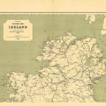 Ireland-Railway Map-North