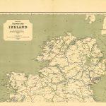 Ireland-Railway Map-North