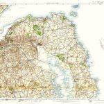 OS -1in Topo Col- 037 38 Pt 29-Newtown Ards-Ards Coast-Carrickfergus