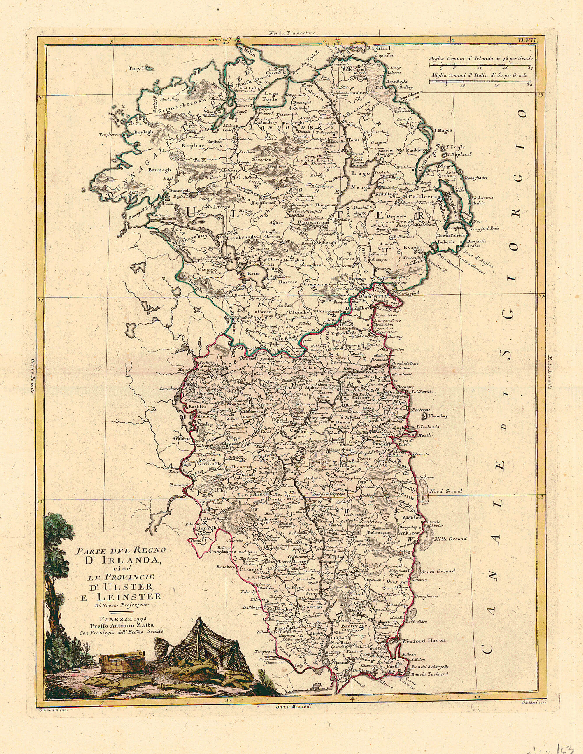 Map Of Ireland Leinster.Maps Of Irish Provinces L Brown Collection