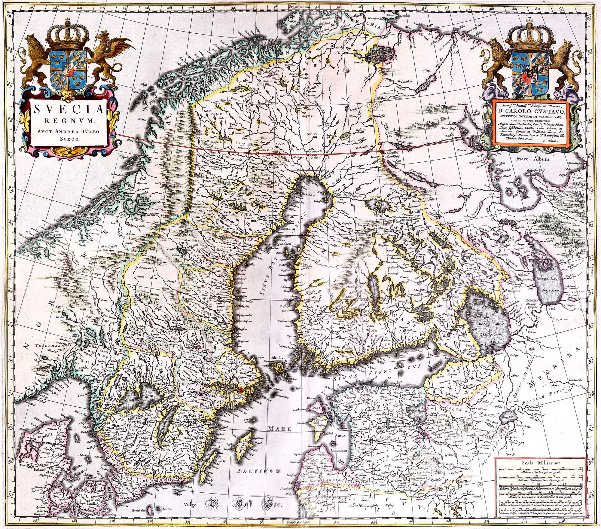 Atlas maior vol 2 z 1 23 russia eastern europe l brown collection z 1 23 02 sweden gumiabroncs Choice Image