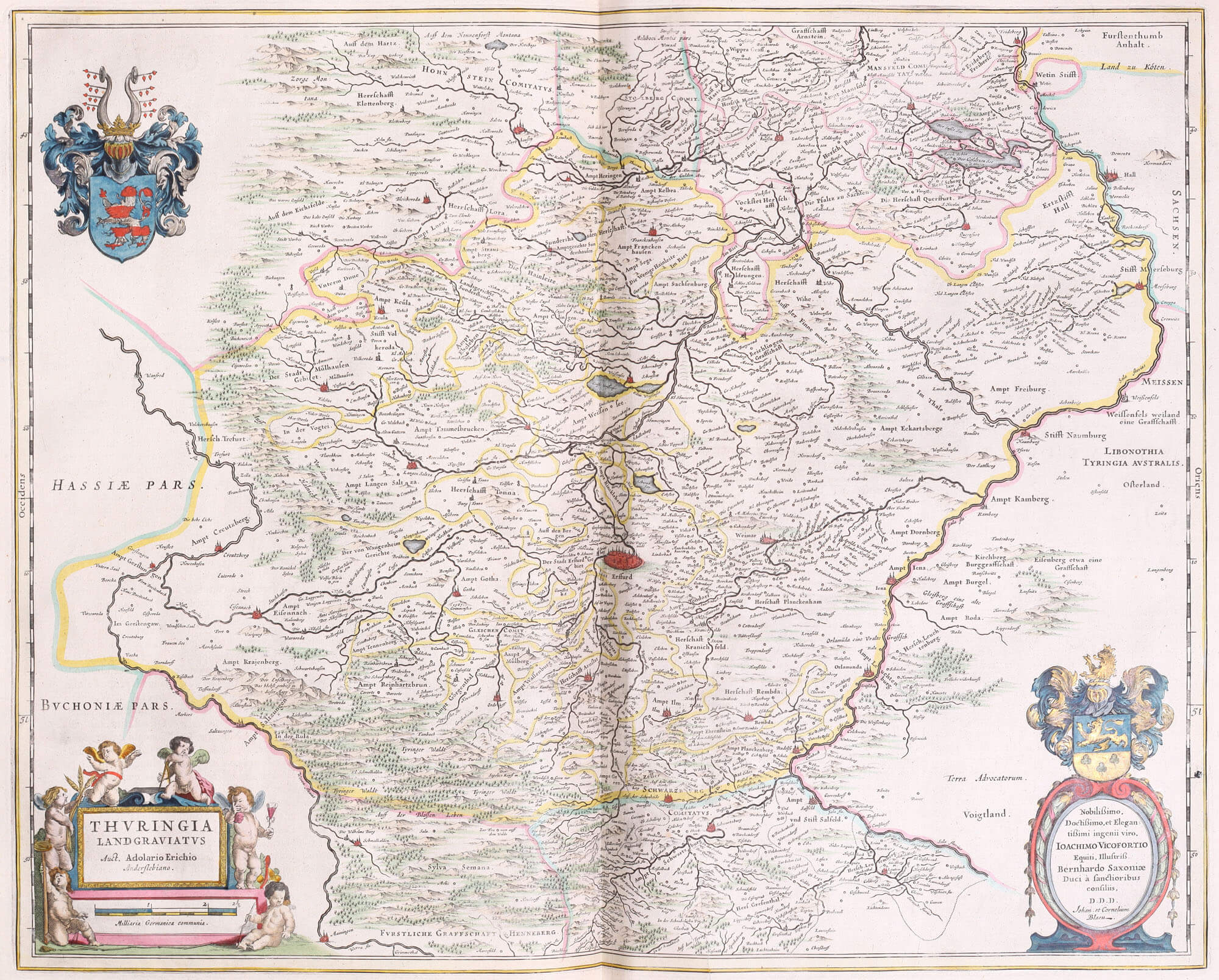 Atlas Maior Vol 3 Z124Germany Part 1 Maps 145 L Brown Collection