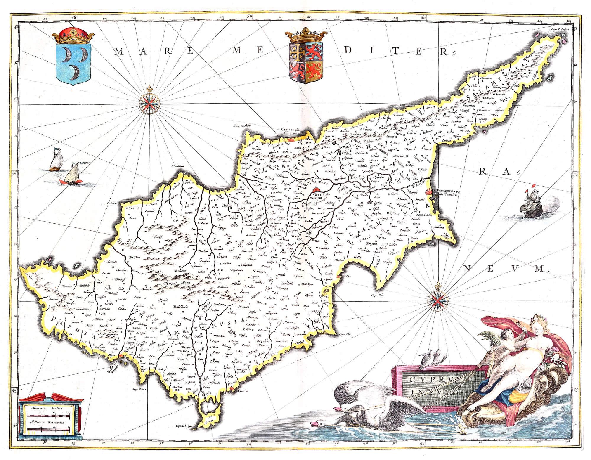 Atlas maior vol 10 z 1 31 blaeu 1662 turkey palestine china z 1 31 04 cyprus gumiabroncs Gallery