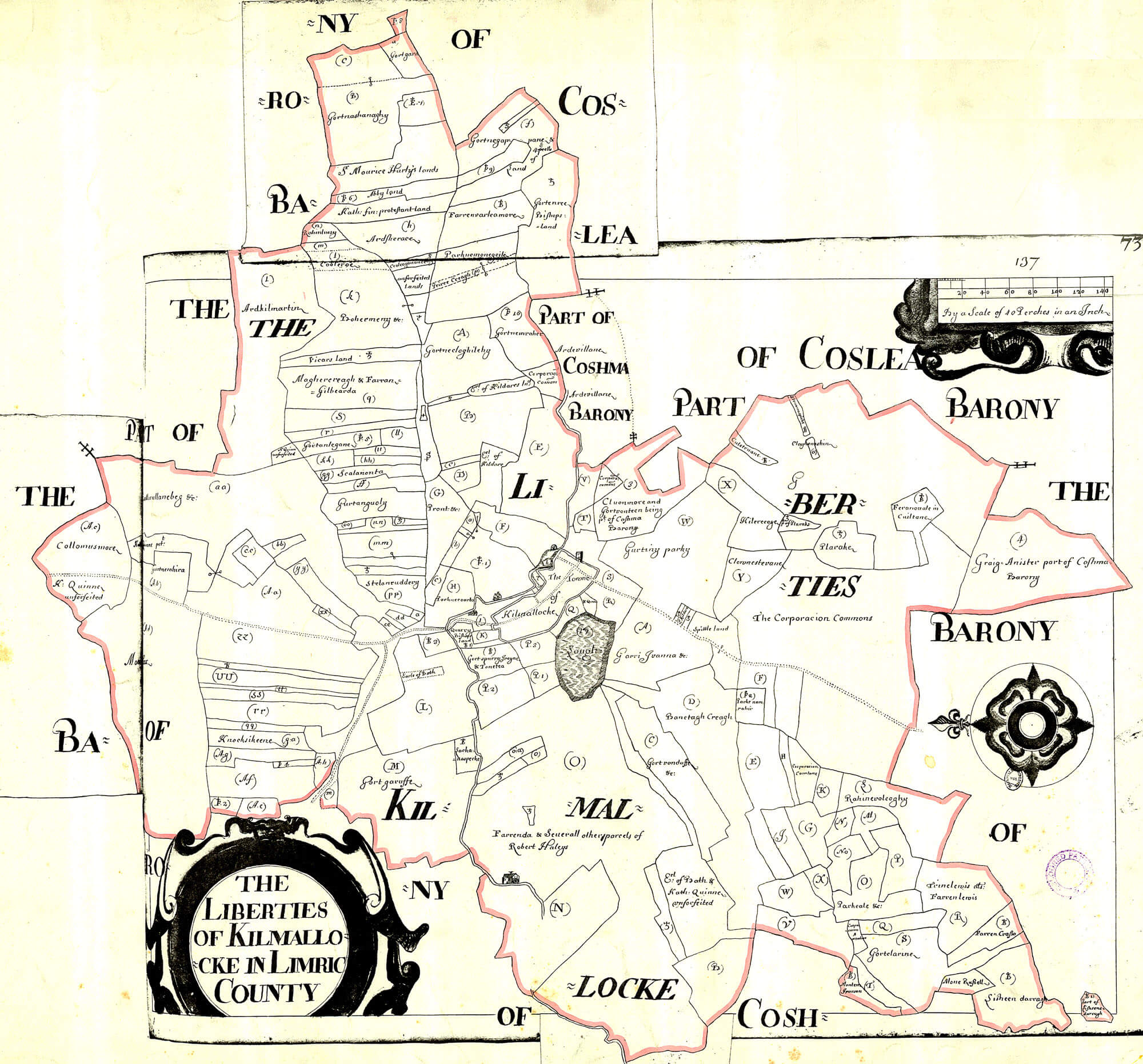 Map Of Quinn Ireland.Ireland Barony Maps County Limerick L Brown Collection