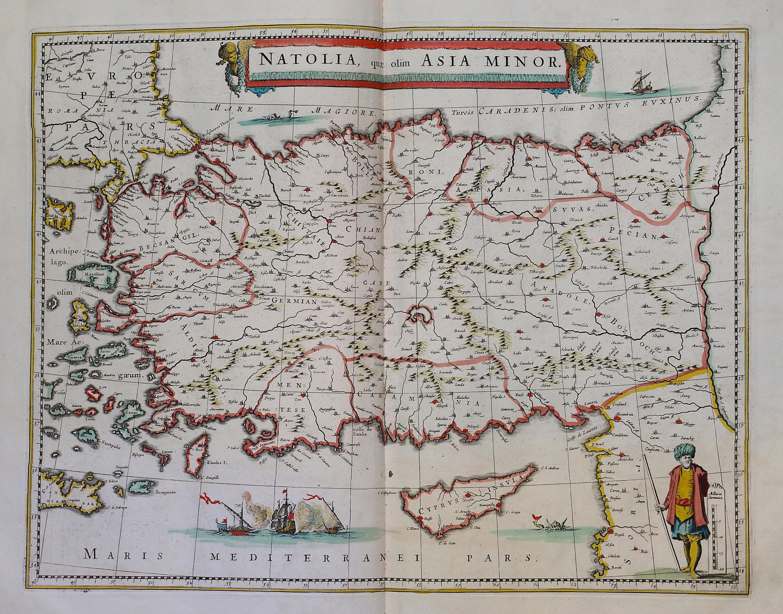 World atlas maior frederik de wit 1670 part 1 a 2 37 l brown a 2 37 008 natolia quae asia minor gumiabroncs Images