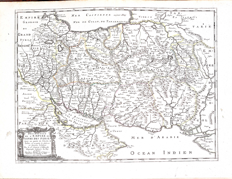 World atlas nicolas sanson 1695 a 3 37 europe france greece roman a 3 37 07 persian empire gumiabroncs Choice Image