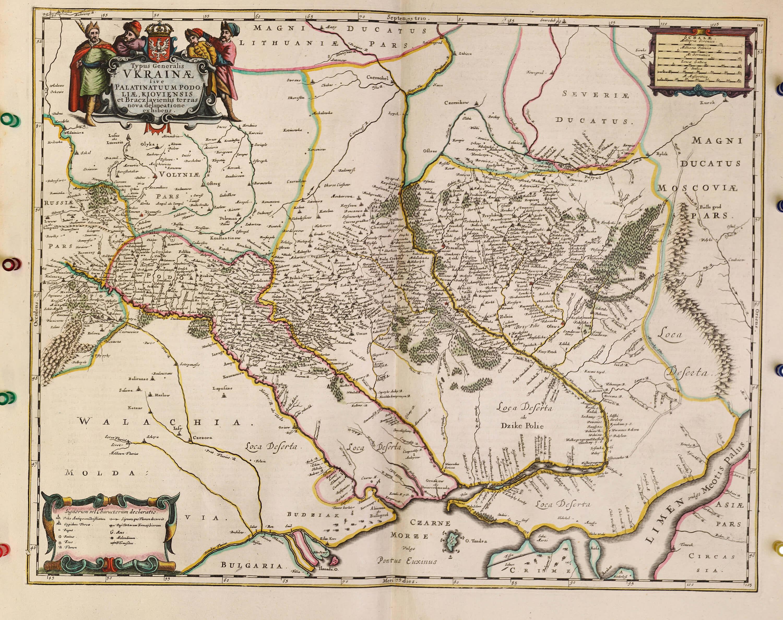 World atlas vol 1 johannes jansson 1666 a 1 38 l brown collection a 1 38 08 ukraine gumiabroncs Images