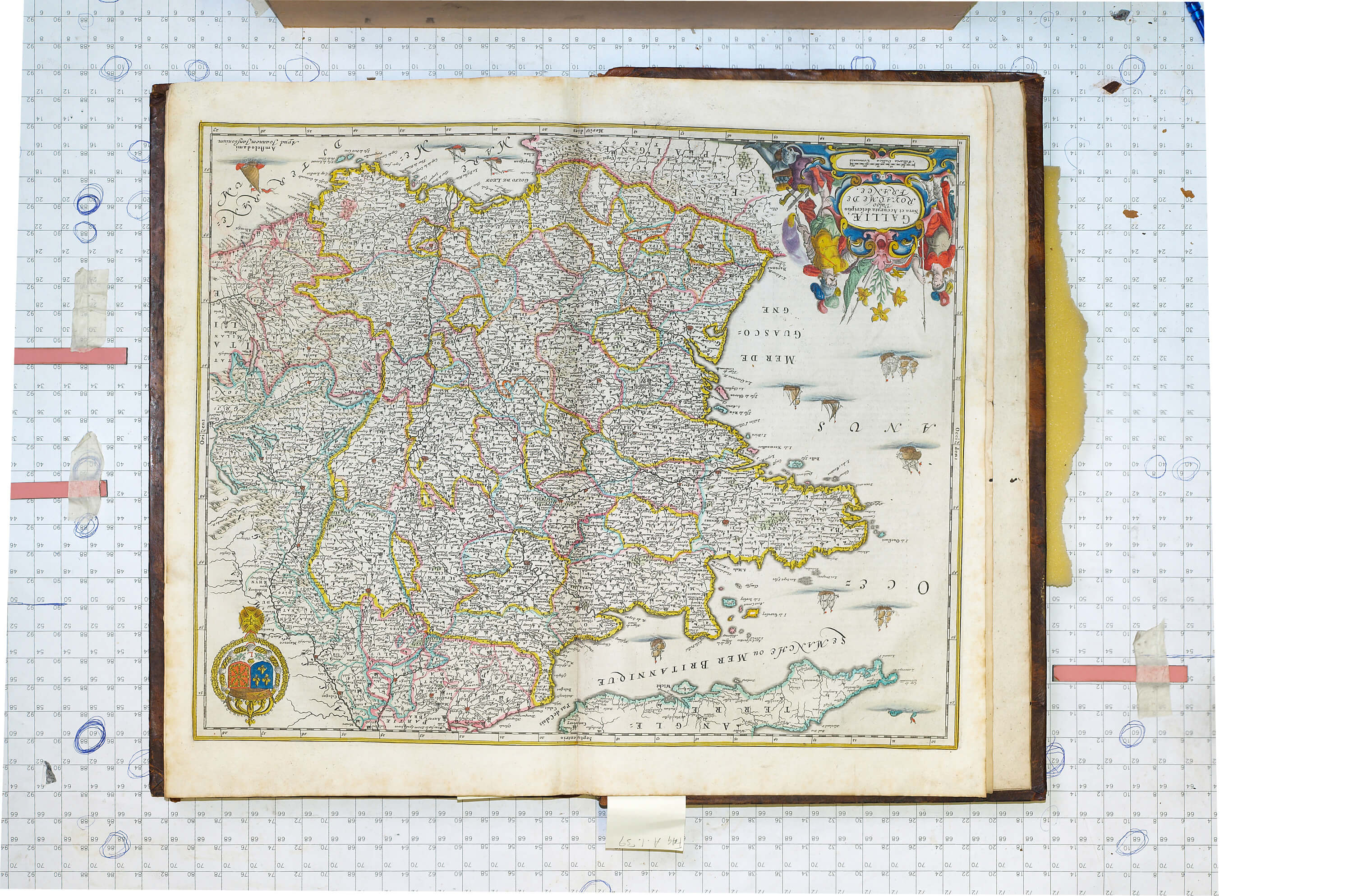 World atlas vol 2 johannes jansson 1666 a 1 39 l brown collection a 1 39 1 france gumiabroncs Images