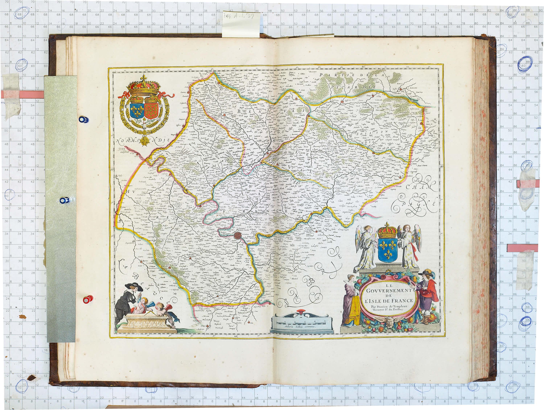 World atlas vol 2 johannes jansson 1666 a 1 39 l brown collection a 1 39 5 ile de france gumiabroncs Images