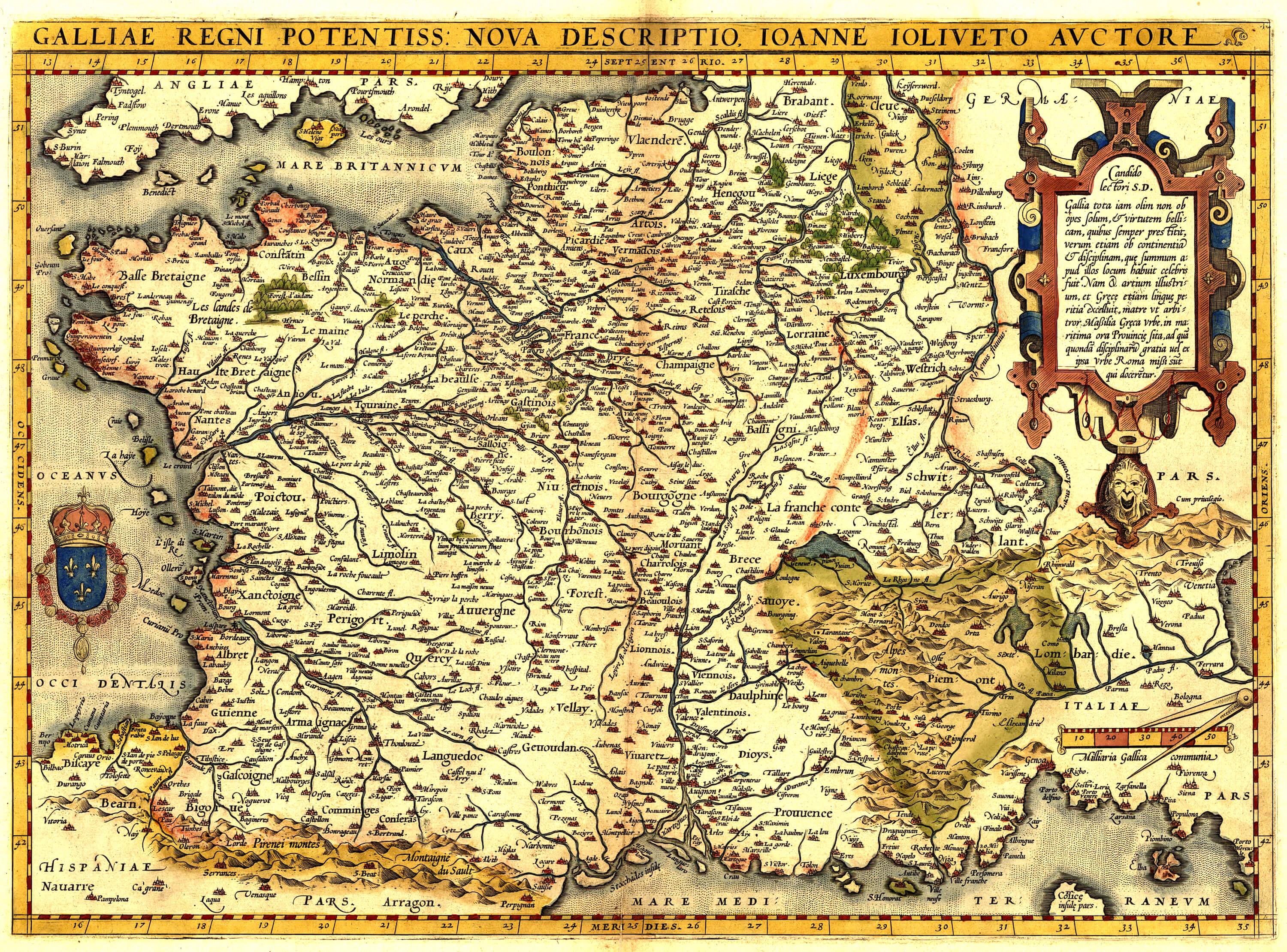 World atlas abraham ortelius 1565 bro 07 l brown collection ort bro 07 009 france gumiabroncs Images