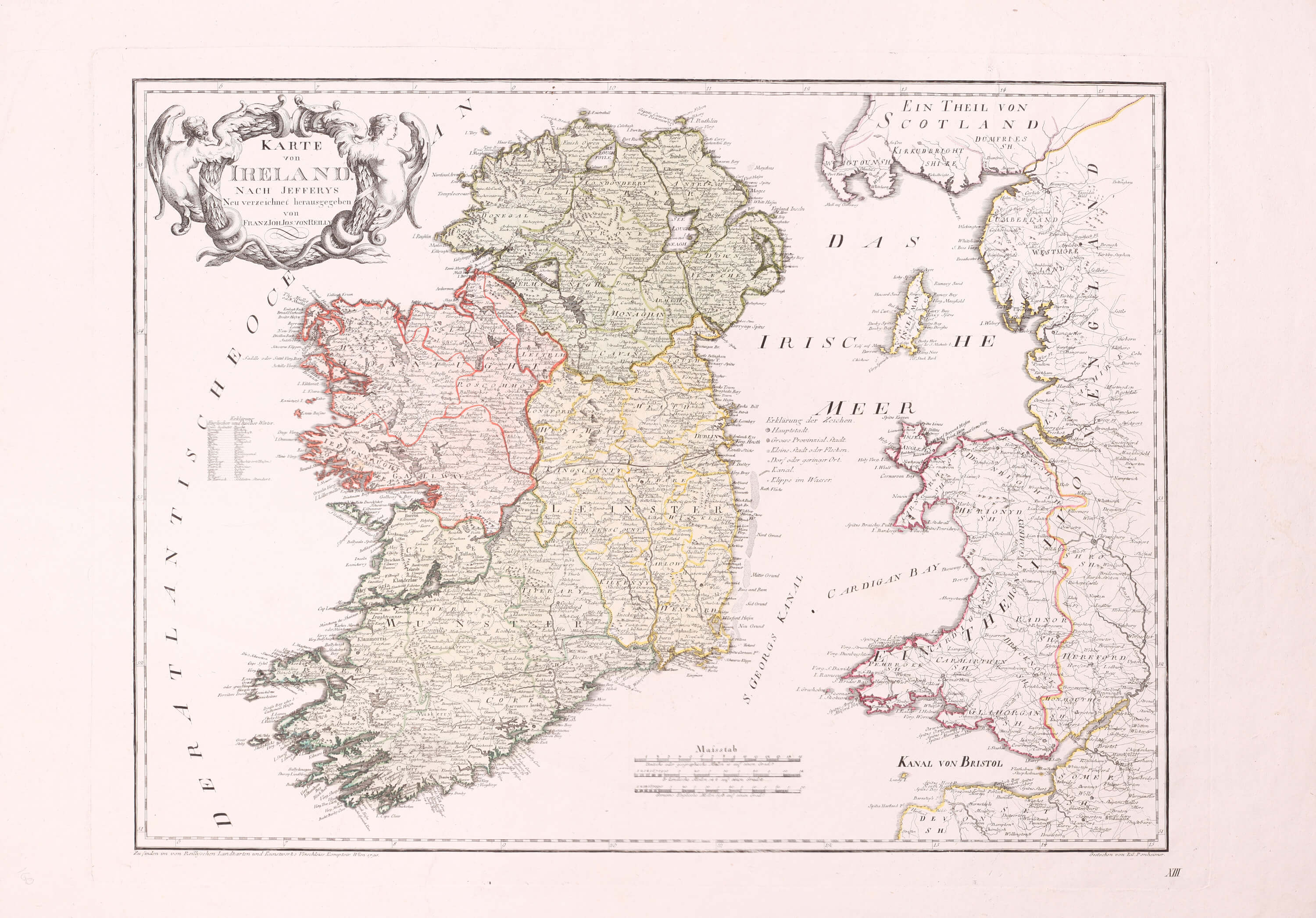 Map Of Ireland 32.Maps Of Ireland Part 5 1795 1811 0157 1i 0228 L Brown Collection