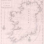 069 Ireland ChartEdmund Halley 1728