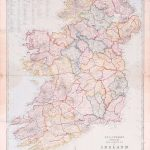 L010 Ireland Travelling Edward Stanford 1860