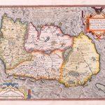 P022 Ireland Abraham Ortelius 1572
