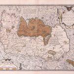 P023 B Ireland Abraham Ortelius 1572