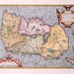 P034 Ireland Abraham Ortelius 1579
