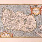 P037 Ireland Abraham Ortelius 1584