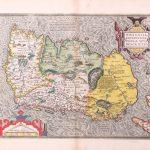P040 Ireland Abraham Ortelius 1592