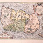 P041 Ireland Abraham Ortelius 1595