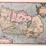 P042 Ireland Abraham Ortelius 1598