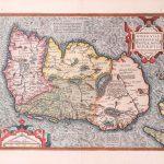 P043 Ireland Abraham Ortelius 1598