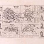 P118 Ireland 4 towns Gerard Mercator 1633