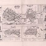 P119 Ireland 4 towns Gerard Mercator 1633