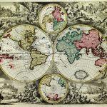 1713-World Hemispheres-Johannes Babtiste Homan-F1-44