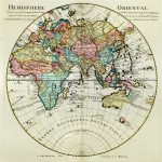 1724-World-Eastern Hemisphere-Guillaume de L'Isle-F1-37
