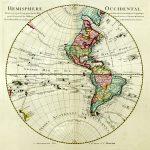 1724-World-Western Hemisphere-Guillaume de L'Isle-F1-35