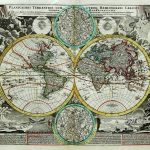 1740-World Map-Johannes Babiste Homan-1740-F1-3