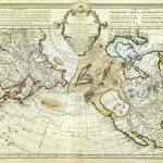1750-World-Northern Hemisphere-Guillaume de L'Isle-F1-52