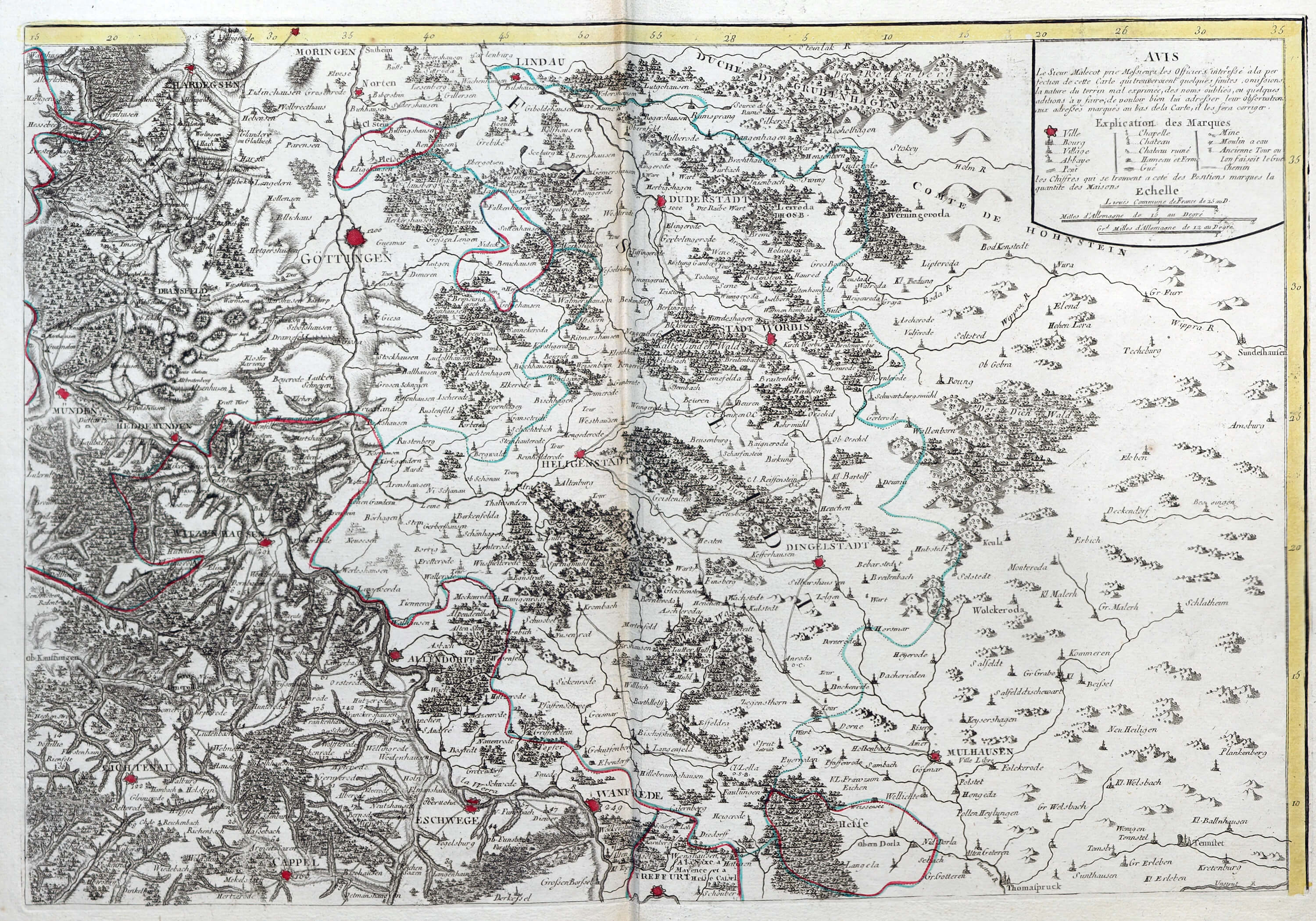 Map Of Germany Austria.Germany Austria 1 Westphalia L Brown Collection