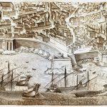 Italy-2-Genoa-Town Plan -F4-64-7