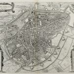 Belgium-Brussels-Town Plan-F14-92