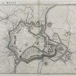 Belgium-Menin-Town Plan-F14-114