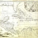 West Indies-Mexico-War Map--F21-10