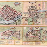 4 Towns Gerard Mercator 1633